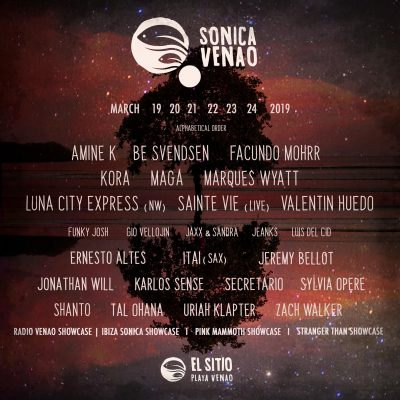 Live radio show recorded at Sonica Venao 2019