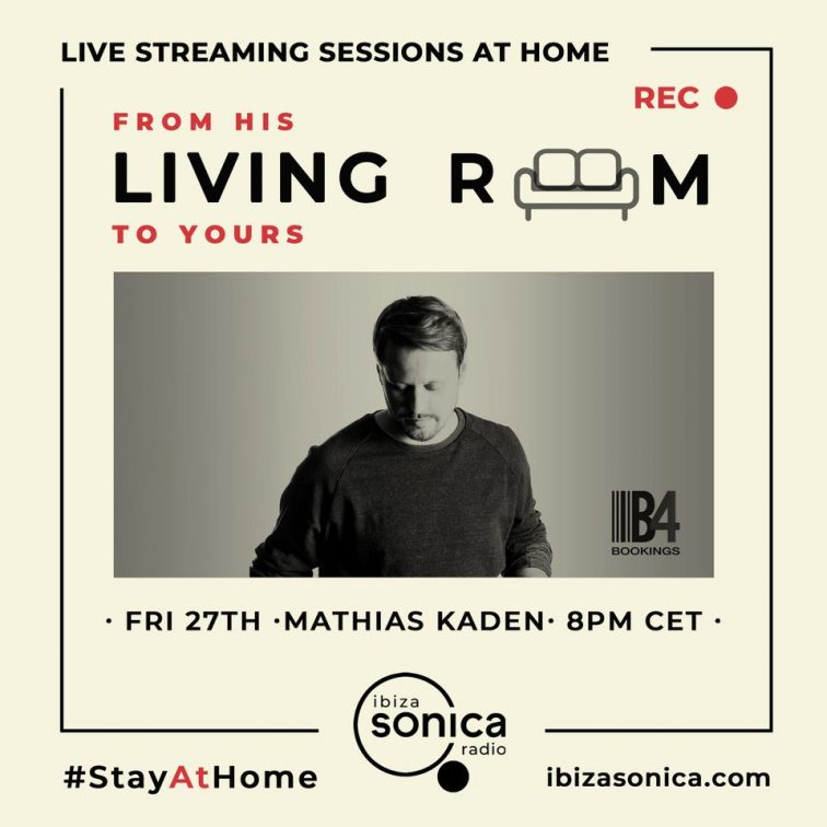 Mathias Kaden DJ Stayathome podcast