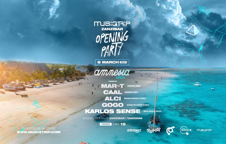 Opening party Zanzibar